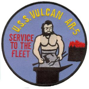 USS VULCAN AR-5 Navy