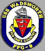USS WADSWORTH (FFG-9) Navy