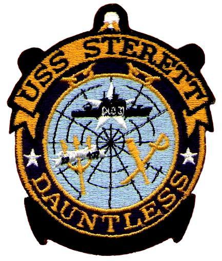 USS STERETT DLG-31 Navy