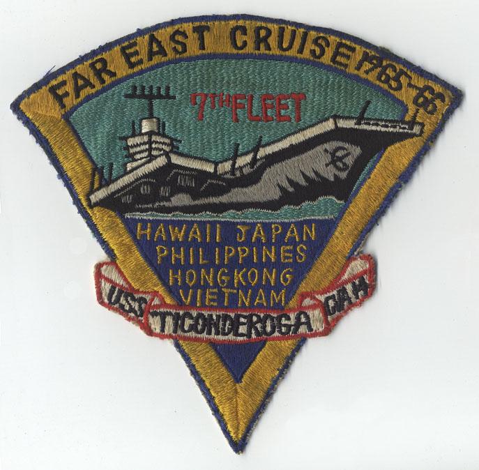 USS TICONDEROGA CVA-14 Navy