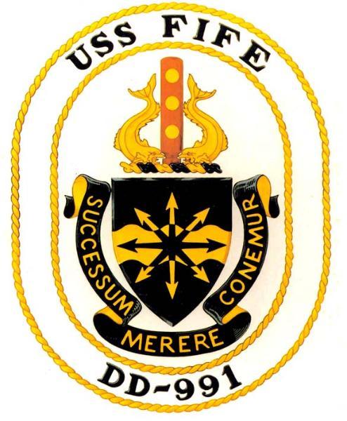 USS FIFE Navy